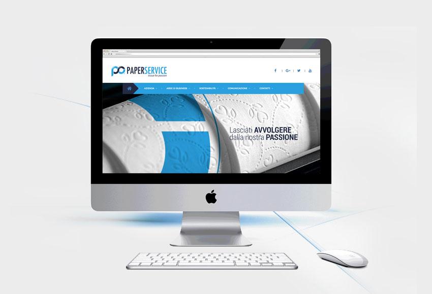 Nuovo Sito web Paper Service
